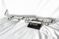 2007 - 2009 Suzuki SX4 2.0L J20A Engine Aluminum Fuel Rail AFTER Chrome-Like Metal Polishing and Buffing Services