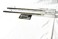 Aluminum Fuel Rails AFTER Chrome-Like Metal Polishing and Buffing Services Plus Painting Services