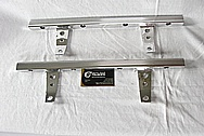 Aluminum Fuel Rails and Brackets AFTER Chrome-Like Metal Polishing and Buffing Services / Resoration Services