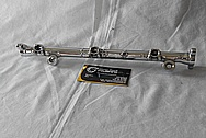1996 Mitsubishi 3000 GT Aluminum Fuel Rail AFTER Chrome-Like Metal Polishing and Buffing Services / Resoration Services