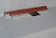 Aluminum Custom Fuel Rails AFTER Chrome-Like Metal Polishing and Buffing Services / Resoration Services Plus Custom Painting services