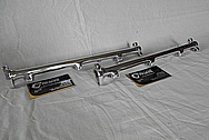Mitsubishi 3000GT Aluminum Fuel Rails AFTER Chrome-Like Metal Polishing and Buffing Services / Resoration Services Plus Custom Painting services