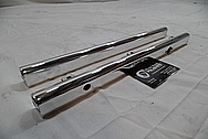 Aluminum Fuel Rails AFTER Chrome-Like Metal Polishing and Buffing Services / Resoration Services Plus Custom Painting services