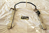 Ford Shelby GT500 Aluminum Fuel Rails BEFORE Chrome-Like Metal Polishing and Buffing Services