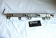 2007 - 2009 Suzuki SX4 2.0L J20A Engine Aluminum Fuel Rail BEFORE Chrome-Like Metal Polishing and Buffing Services