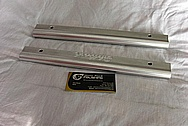 Edelbrock Aluminum Fuel Rails BEFORE Chrome-Like Metal Polishing and Buffing Services / Restoration Services