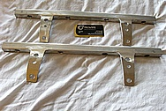 Aluminum Fuel Rails and Brackets BEFORE Chrome-Like Metal Polishing and Buffing Services / Resoration Services