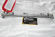1996 Mitsubishi 3000 GT Aluminum Fuel Rail BEFORE Chrome-Like Metal Polishing and Buffing Services / Resoration Services