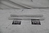 Aluminum Fuel Rails BEFORE Chrome-Like Metal Polishing - Aluminum Polishing