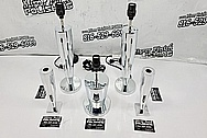 Aluminum Lamps / Art Furniture Pieces AFTER Chrome-Like Metal Polishing - Aluminum Polishing - Furniture Polishing