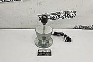 Aluminum Lamps / Art Furniture Pieces BEFORE Chrome-Like Metal Polishing - Aluminum Polishing - Furniture Polishing