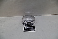 1998 Dodge Viper GTS Aluminum Gas Cap Assembly AFTER Chrome-Like Metal Polishing and Buffing Services - Aluminum Polishing Service
