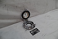 1999 Dodge Viper GTS ACR Gas Cap Assembly AFTER Chrome-Like Metal Polishing and Buffing Services / Restoration Services
