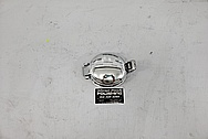 2001 Dodge Viper GTS ACR Gas Cap Assembly AFTER Chrome-Like Metal Polishing and Buffing Services / Restoration Services