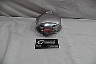 1999 Dodge Viper GTS ACR Gas Cap Assembly BEFORE Chrome-Like Metal Polishing and Buffing Services / Restoration Services