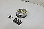 2001 Dodge Viper GTS ACR Gas Cap Assembly BEFORE Chrome-Like Metal Polishing and Buffing Services / Restoration Services
