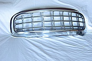 1961 Plymouth Fury Aluminum Grille AFTER Chrome-Like Metal Polishing and Buffing Services