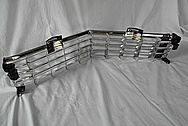 1967 Cadillac Eldorado 2 Door Coupe Aluminum Grille AND Headlight Covers AFTER Chrome-Like Metal Polishing and Buffing Services / Restoration Services