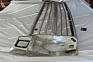 Aluminum Front Grille BEFORE Chrome-Like Metal Polishing and Buffing Services / Restoration Services