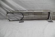 1964 Pontiac GTO Aluminum Grille BEFORE Chrome-Like Metal Polishing - Aluminum Polishing