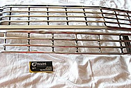 1968 Chevy Impala Front Grilles BEFORE Chrome-Like Metal Polishing and Buffing Services / Restoration Services / Custom Painting Services