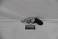Steel Colt Revolver Handgun AFTER Chrome-Like Metal Polishing and Buffing Services / Restoration Services - Steel Gun Polishing Services