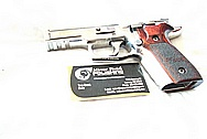 Sig Sauer Elite Stainless Steel Gun AFTER Chrome-Like Metal Polishing and Buffing Services