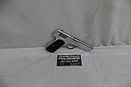Colt Stainless Steel 1911 Slide Action Gun AFTER Chrome-Like Metal Polishing and Buffing Services - Stainless Steel Polishing Services