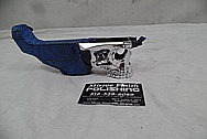 Steel Gun AR-15 Lower AFTER Chrome-Like Metal Polishing and Buffing Services / Restoration Services - Steel Polishing Services