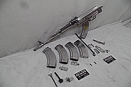 Steel AK-47 Parts AFTER Chrome-Like Metal Polishing and Buffing Services / Restoration Services - Steel Polishing Services