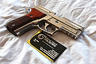 Sig Sauer Elite Stainless Steel Gun Magazine AFTER Chrome-Like Metal Polishing and Buffing Services