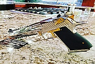Desert Eagle 50 Caliber Pistol Stainless Steel Gun AFTER Chrome-Like Metal Polishing and Buffing Services / Restoration Services - Steel Polishing Services - Gun Polishing Services