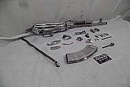 Stainless Steel AK-47 Parts AFTER Chrome-Like Metal Polishing and Buffing Services / Restoration Services - Steel Polishing Services