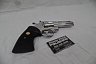Colt Python .357 Stainless Steel Gun Parts AFTER Chrome-Like Metal Polishing and Buffing Services / Restoration Services - Stainless Steel Polishing Services