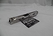 Sig Sauer P320 Stainless Steel Gun Slide AFTER Metal Polishing and Buffing Services / Restoration Services - SATIN FINISH