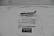 AR15 Aluminum Gun Parts AFTER Chrome-Like Metal Polishing and Buffing Services / Restoration Services - Aluminum Polishing