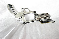 Smith & Wesson (S&W 500) 500 Stainless Steel Gun Frame, Cylinder and Barrel AFTER Chrome-Like Metal Polishing and Buffing Services