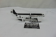 Spikes Tactical AR-15 Lower Gun Receiver AFTER Chrome-Like Metal Polishing and Buffing Services - Aluminum Polishing - Gun Polishing