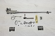 WWII Steel Rifle AFTER Chrome-Like Metal Polishing and Buffing Services - Steel Polishing - Gun Polishing
