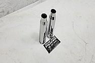 25MM Anti-Aircraft Bullet Shell AFTER Chrome-Like Metal Polishing and Buffing Services - Steel Polishing - Gun Polishing