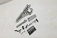 Star Bonifacio Echeverria S.A. 9mm Stainless Steel Gun AFTER Chrome-Like Metal Polishing and Buffing Services - Steel Polishing - Gun Polishing