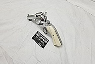 Ruger New Vaquero Stainless Steel .45 Caliber Revolver AFTER Chrome-Like Metal Polishing and Buffing Services - Stainless Steel Polishing