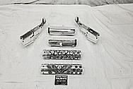 AR15 .308 Aluminum Gun Parts AFTER Chrome-Like Metal Polishing - Aluminum Polishing - Gun Polishing