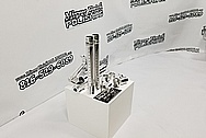 AR-15 Aluminum Machined Gun Parts AFTER Chrome-Like Metal Polishing - Aluminum Polishing