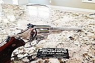 Smith and Wesson .44 Magnum Stainlesss Steel Gun Parts AFTER Chrome-Like Metal Polishing - Stainless Steel Polishing