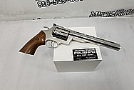 Dan and Wesson .468 Stainlesss Steel Gun AFTER Chrome-Like Metal Polishing - Stainless Steel Polishing