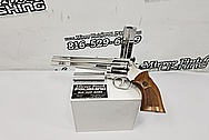 Dan & Wesson .357 Magnum Revolver AFTER Chrome-Like Metal Polishing and Buffing Services / Restoration Services