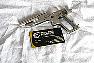 Carl Walther PPK 9MM Pistol Gun Part(s) AFTER Chrome-Like Metal Polishing and Buffing Services