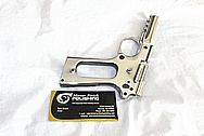 Colt 1911 Stainless Steel Rail Gun AFTER Chrome-Like Metal Polishing and Buffing Services / Restoration Services