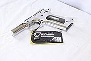Colt 1911 Stainless Steel Frame and Slide AFTER Chrome-Like Metal Polishing and Buffing Services / Restoration Services